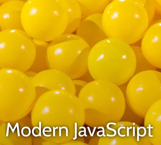Modern JavaScript ES6 training course