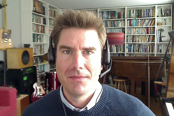 Photo of Ian Watson, MD Framework Training, working from home