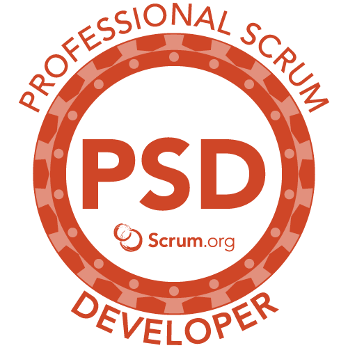 Work together as a team using Scrum and the best Java tools and platforms.