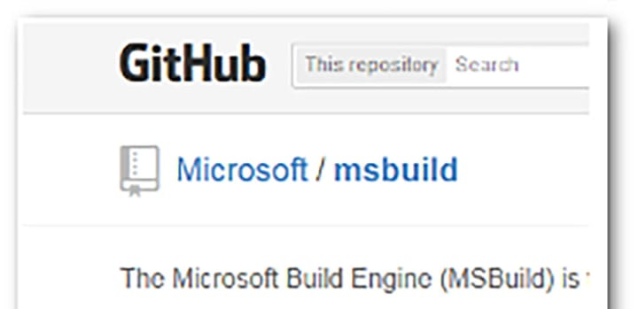 Microsoft keeps up the Open Source goodness - MSBuild now on Github