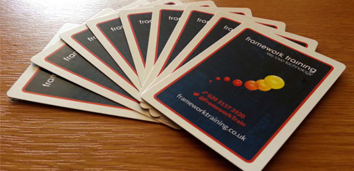 Woohoo, we've got our new Scrum Planning Poker cards!