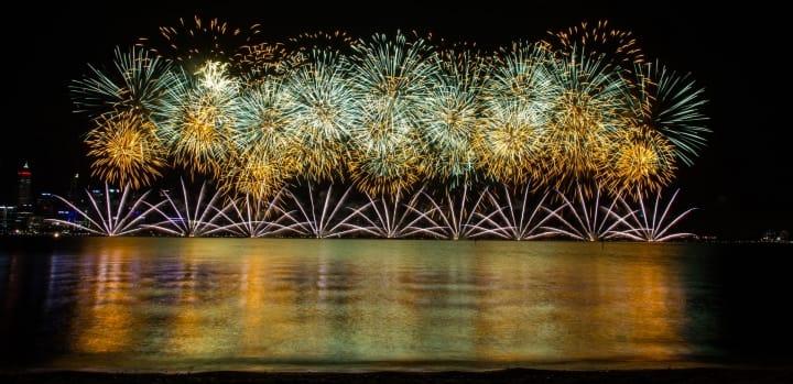 Firework display - bang!