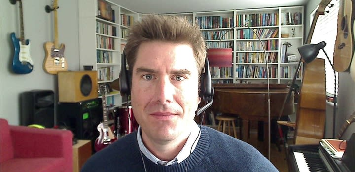Photo of Ian Watson, MD Framework Training, working from home