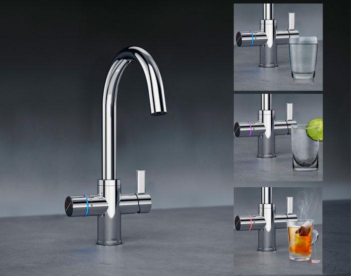 DocolPronto com 6 tipos de água em uma única bica
