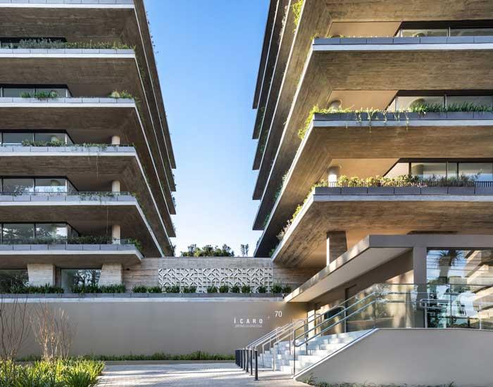 Ícaro de Arthur Casas no Niemeyer