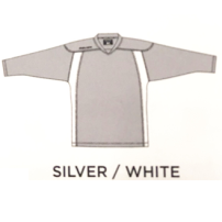 《他サイズ有り》 BAUER 【600シリーズ プレミアムジャージ】 銀/白
