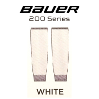 BAUER 【200シリーズ ソックス】 白 S/Mサイズ(71cm)