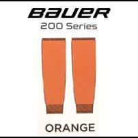 BAUER 【200シリーズ ソックス】 橙 S/Mサイズ(71cm)