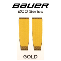 BAUER 【200シリーズ ソックス】 金 S/Mサイズ(71cm)