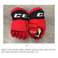 CCM TACKS NHLPROStock グローブ 13インチ