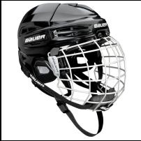 BAUER【IMS Helmet 5.0 COMBO】BLK L Helmet