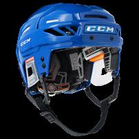 CCM【FITLITE 3DS】helmet L ブルー&シルバー