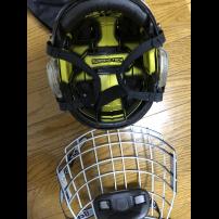BAUER リアクト ヘルメット Mサイズ