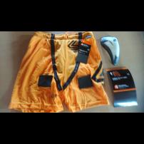 ジョックショーツ ショックドクター ルーズフィット Sサイズ オレンジ色 カップ付