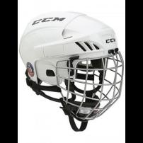 CCM【FITLITE 40 Combo】WHT Helmet