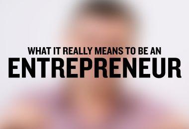 Entrepreneurs mindset