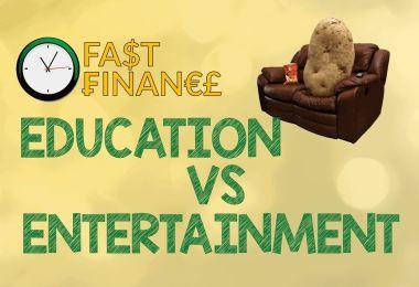 education vs entertainment