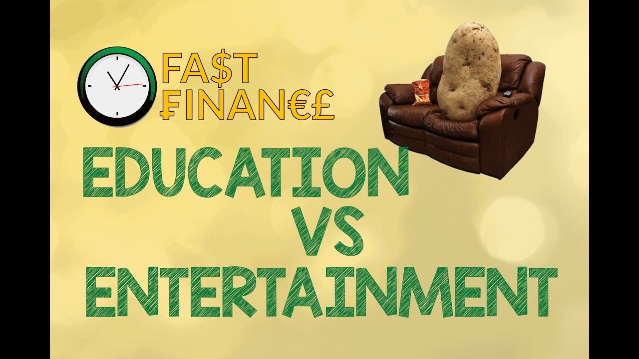 education vs entertainment