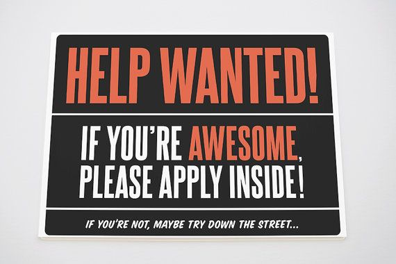 hiring awesome employees