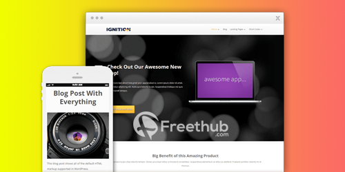 Thrive Themes Ignition v1 404 WordPress Theme Free Download GPL