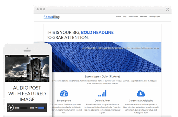 Free Download Thrive Themes Focusblog WordPress Theme - Freethub