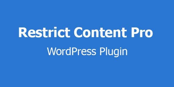 Restrict content pro wordpress plugin free download