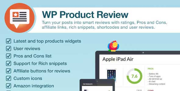WP Product Review Wordpress Plugin Free Download