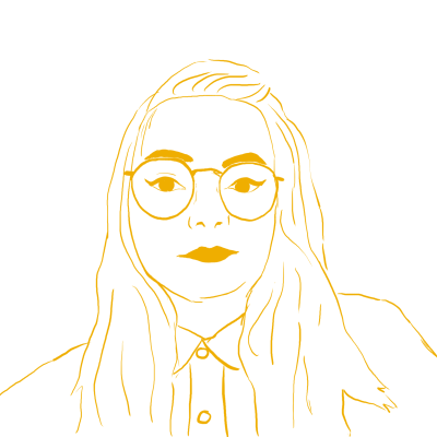 Illustration of Caitlin