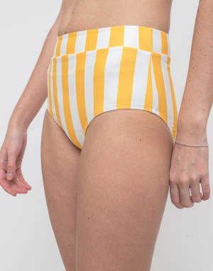 Plavky Dedicated Bikini Pants Slite Big Stripes
