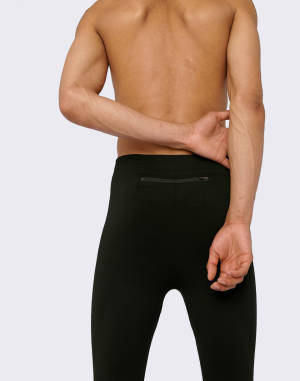 Legíny Organic Basics SilverTech™ Active Men's Running Tights