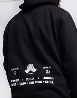 Mikina Carhartt WIP Hooded Smiley Sweat