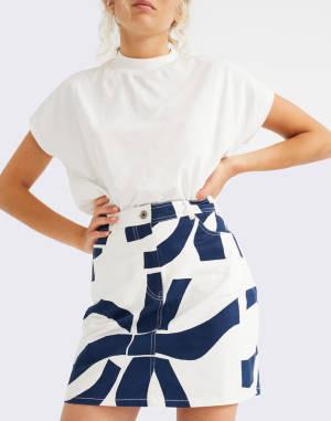 T-shirt Thinking MU Basic White Volta T-Shirt