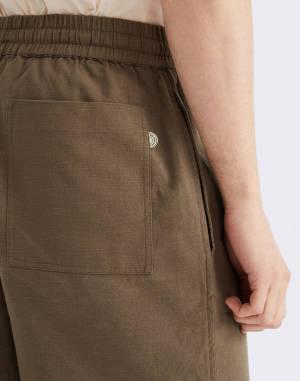 Canvas Thinking MU Green Henry Shorts