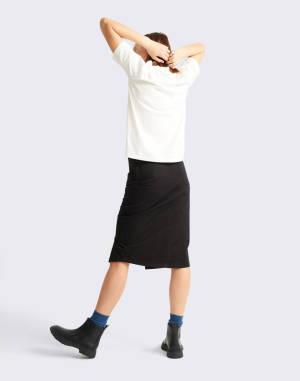 T-shirt Thinking MU Basic White Mock T-Shirt