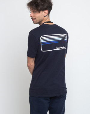 T-Shirt - Knowledge Cotton - Signature Wave Tee