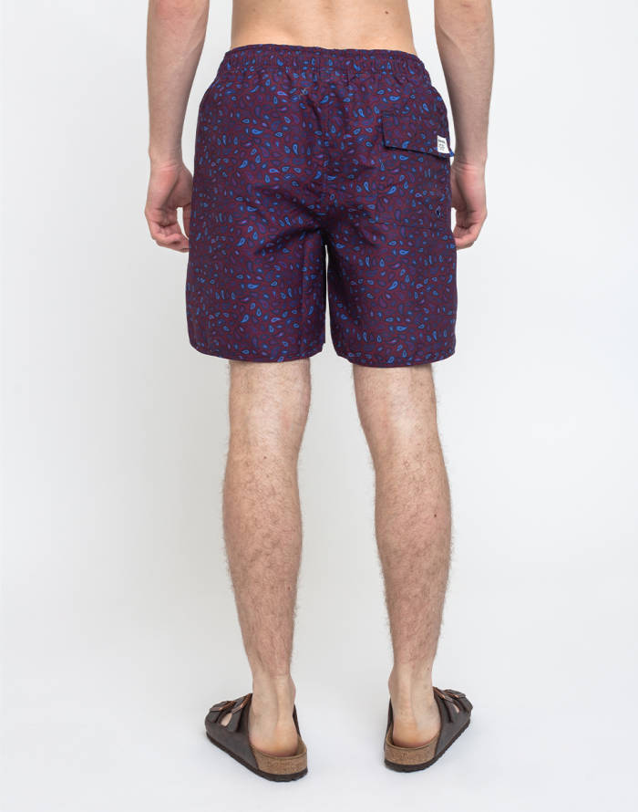 Plavky Dedicated Swim Shorts Sandhamn Paisley