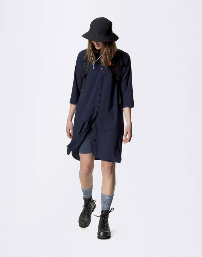 Kleid Houdini Sportswear W's Route Shirt Dress