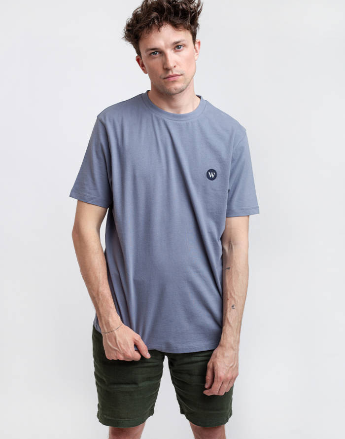 T-Shirt Wax London Reid Badge T-shirt
