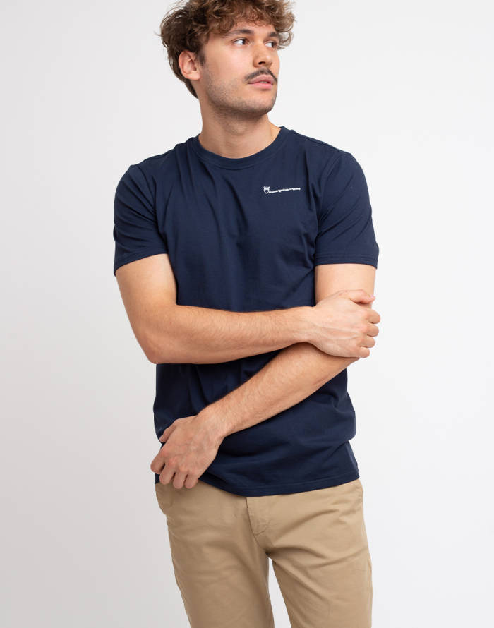 T-shirt Knowledge Cotton Alder Knowledgecotton Tee