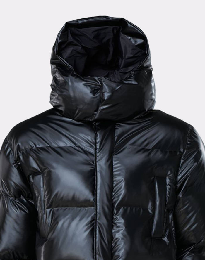 Bunda Rains Puffer Hooded Coat