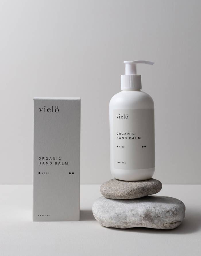 Kosmetika vielö Explore Organic Hand Balm 250ml