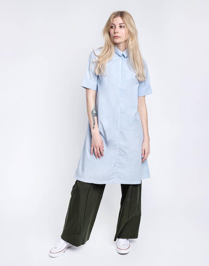 Šaty Knowledge Cotton Azalea Shirt Dress