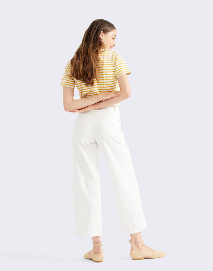 Cropped Thinking MU White Elephant Pants