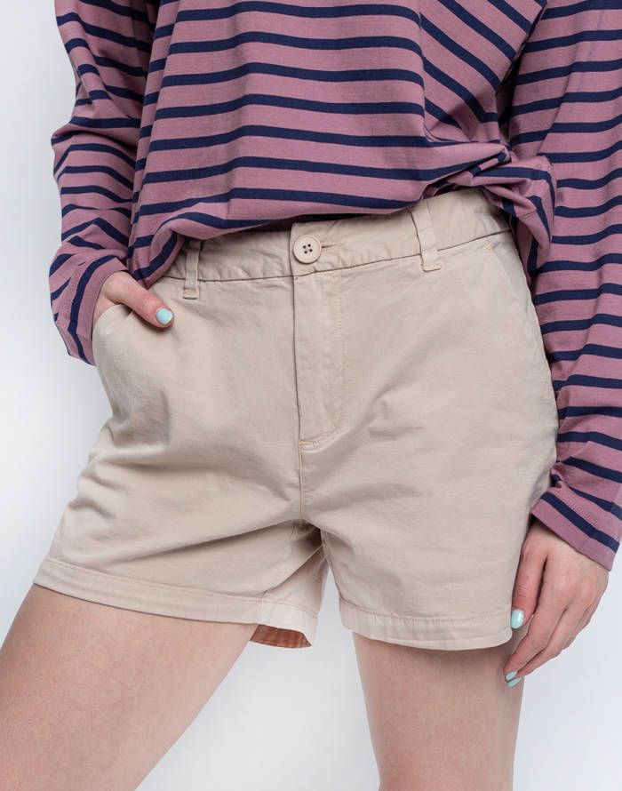 Canvas Knowledge Cotton Willow Chino Shorts
