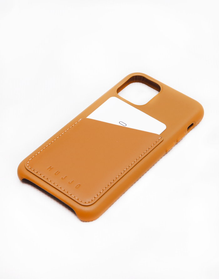 Obal na telefon - Mujjo - Full Leather Wallet Case for iPhone 11 Pro