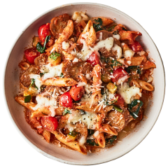 Sausage Baked Penne