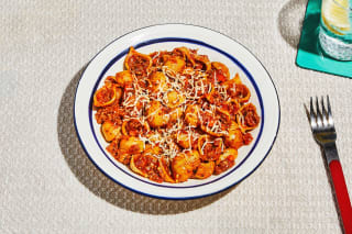 Cauliflower-Shell Bolognese
