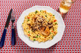 Chicken & Spring Pea Risotto