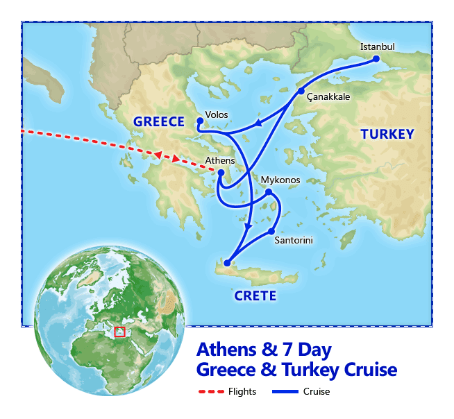 Athens & 7 Day Greece & Turkey Cruise - Vacation Packages by ...