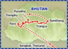 Beautiful Bhutan itinerary